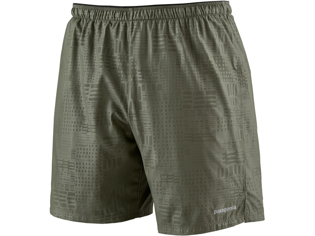 """Patagonia Strider Shorts 7"""" Men southern soul emboss: industrial green"""